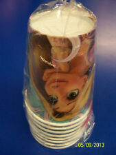Tangled Disney Princess Rapunzel Cartoon Movie Birthday Party 9 oz. Paper Cups