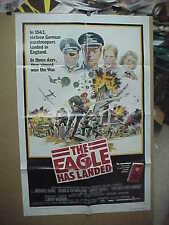 THE EAGLE HAS LANDED orig 1-sh / movie poster [Michael Caine, Donald Sutherland]