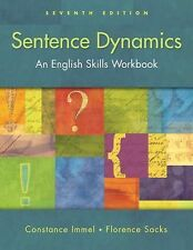 Sentence Dynamics by Constance Immel NEW