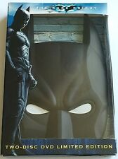 BATMAN THE DARK KNIGHT LIMITED EDITION TWO DVD SET WITH BATMAN'S MASK