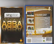 SingStar ABBA PLAYSTATION 2 PS2 Raro PS 2 Karaoke