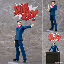 Max Factory Phat Figma SP-084 SP 084 Ace Attorney Action Figure Phoenix Wright