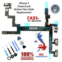 NEW iPhone 5 On/Off Power/Lock Volume Mute/Silent Button/Switch Replacement Flex