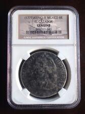 (1777-83)MO FF Mexico 8R El Cazador Shipwreck Coin