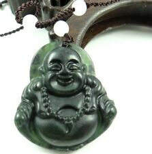 100% Chinese natural jade hand-carved the statue of Buddha PENDANT B-4
