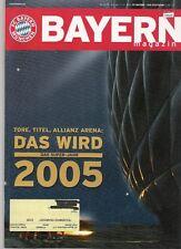 Bayern Magazin 9/56 , Bayern München - VfB Stuttgart , 11.12.2004