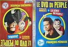 LE DVD DU PEUPLE François Pérusse FRANCOIS PERUSSE RG1 2 DVD Le journul La série
