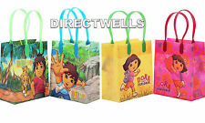Dora and Diego Authentic Licensed Reusable Small Party Favor Goodie 12 Bags
