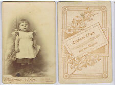 Cabinet Card Photograph Victorian Child by Chapman of Dawlish