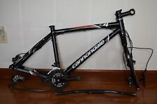 Cannondale F4 Caffeine bike frame and fork Large size