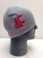 Washington State Football Helmet Beanie Hat Skin College Cougars Winter NCAA