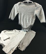 Baby Boy 3-6 Months 4 pc Interchangeable Outfits Sets 100% Cotton Old Navy