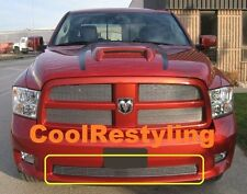 For 2009 2010 2011 2012 Dodge RAM Sport Bumper Billet Grille Insert