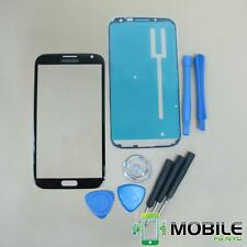 Black Replacement Front Screen Glass Lens for Samsung Galaxy Note 2 N7100