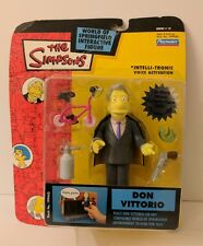 THE SIMPSONS DON VITTORIO ACTION FIGURE WORLD OF SPRINGFIELD WOS PLAYMATES TOYS