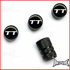 AUDI TT - Set Of 4 Lasered Logo Aluminium Tire Valve Caps
