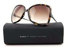 RARE Genuine MARC BY MARC JACOBS Havana Brown Square Sunglasses MMJ 217/S YQR