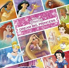 Disney Princess - Dream Big, Princess - CD NEW & SEALED - Tangled,  Mulan etc