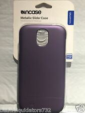 Incase - Slider Case for Samsung Galaxy S4  Phones - Dark Mauve / Purple CL69265