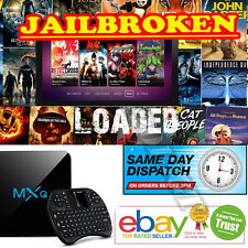 2017 MXQ M8S+ Quad Core Android 6.0 Smart TV Box New Fully Load Kodi 16.0 UK