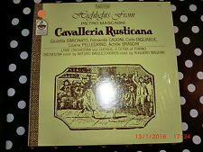Highlights from Pietro Mascagni, Cavalleria Rusticana. Everest 7410
