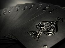 Impressions Black Stealth Rare Limited Custom Playing Cards Pro Poker Deck $