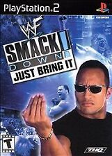 WWF SmackDown Just Bring It PS2 #####PLEASE READ DESCRIPTION#####
