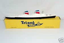 Triang Minic Ships M704 S.S. United States   Mint in Box - RARE -