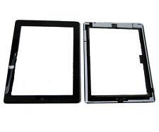 iPad 4 iPad4 Front Touch Screen Digitizer Panel Lens Home Button Flex Black UK