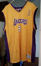 LA LAKERS #8 KOBE BRYANT Basketball Jersey MENS SZ 52 / 2XL Champion GREAT SHAPE