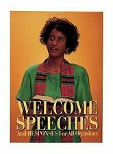 Welcome Speeches and Responses for All Occasions