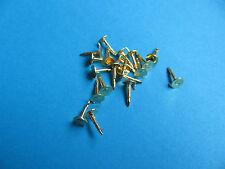 20, Pin Badge Pins GOLD Coloured.