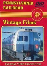 Pennsylvania Railroad Vintage Films DVD NEW PRR On to Washington Train Video