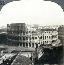 Keystone Stereoview The Roman Colosseum, Rome, ITALY from 1910s Education Set #B