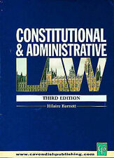 Constitutional and Administrative Law by Hilaire A. Barnett (Paperback, 2000)