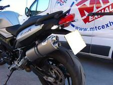 BMW F800 R Titanium Oval Twin Outlet Road Legal MTC Exhaust