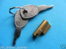 *FREE P+P* Erde Trailers 102 122 142 Anti-Theft Security Coupling Hitch Lock
