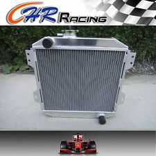 2 ROW ALUMINUM RADIATOR for FORD CAPRI RS/ESCORT SUPERSPEED MK1 ESSEX V6 2.6/3L