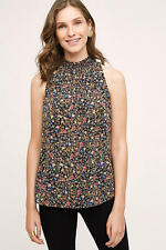 NWT Sz L Anthropologie Gloriette Tank Top Floral Blouse by Meadow Rue Size Large