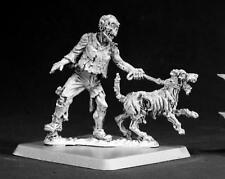 Zombie Dog Handler Miniature by Reaper Miniatures RPR 50069