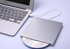 USB External Slim Slot DVD±RW CD±RW DL Writer Drive Burner For Apple Mac HP DELL