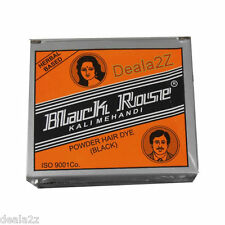 5 X 10Gm Sachet Black Rose Kali Mehndi Black Henna Herbal Hair dye