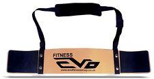 EVO Weightlifting Arm Blaster Biceps Isolator Gym Support Strap Pro Bodybuilder