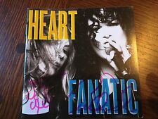 AUTOGRAPHED HEART FANATIC CD SIGNED ONLY 400 SIGNED