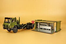 1/43 China PLA STYER SX2190 ARMY Cooking  Expand room TRUCK model