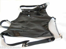 Bondage Fetish PVC Open Back Thigh Binder Restraints , fancy Dress 262