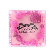 Tarina Tarantino Bracelet Crystal Pink  large LUCITE Bead Stretch