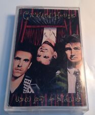 CROWDED HOUSE Tape Cassette THE TEMPLE OF LOW MEN 1988 Capitol EMI Canada