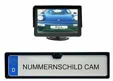 "Matrícula cámara & 4.3"" monitor adecuado para vehículos nissan"