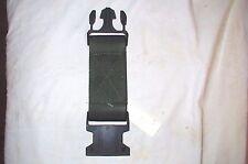 USGI Surplus One (1) LBV OD Green Web Pistol Utility Equipment Belt Extender BNB